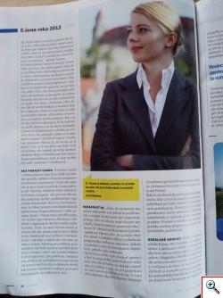 Víťazky súťaže E-žena roka 2013 v časopise Profit